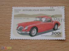 CONGO - SCOTT 1092 - CARROS