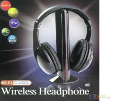 HEADPHONES WIRELESS HI-FI *NOVOS*