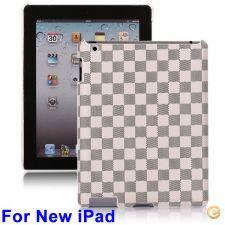 Capa padrão quadrados em plástico duro - iPad 3