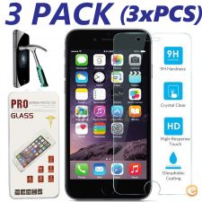 3x Pelicula de vidro temperado iphone 4/5/6/7/SE Plus