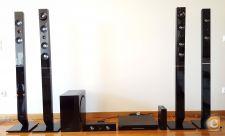 Kit AV Blu-ray 3D + Colunas 7.1ch SAMSUNG HT-D6750W