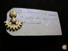 Militar Distintivo Emblema Gola Barrete Svç Material