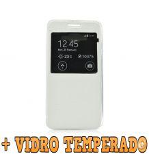 Bolsa Carteira + Pelicula VIDRO P/ Samsung Galaxy Grand Neo