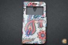 Capa Vodafone Smart Prime 6 Flip Cover Feathers *Em 24h!