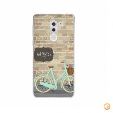 Capa Happiness and bicycle para Huawei Honor 6X