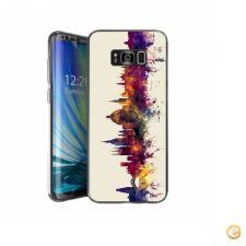 Capa oxford skyline para Galaxy S8 Plus