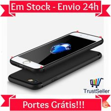 Z276 Capa Gel Matte Slim Silicone Apple iPhone 7 Envio 24h