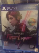 Infamous first light ps4 troca retoma PlayStation 4