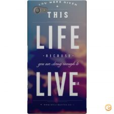 Capa you were given this life para Sony Xperia Z5 Compact