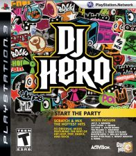DJ Hero - NOVO Playstation 3