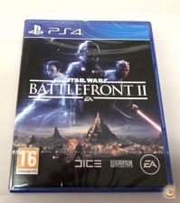 STAR WARS BATTLEFRONT II PS4 - NOVO e SELADO STOCK