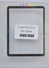 LCD Screen glass Protector for Canon EOS 450/500