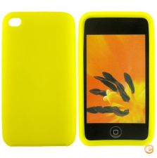 Capa em silicone - iPod Touch 4 (Amarelo)