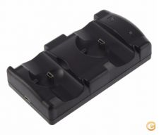 Carregador Duplo 1 X Comando / 1 X Move para PS3