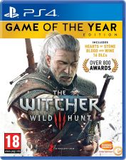 The Witcher 3 Wild Hunt Game of the Year Edition GOTY PS4