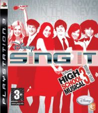 Disney Sing It High School Musical PS3 NOVO E SELADO STOCK