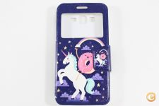 Capa Samsung Galaxy Grand Prime Flip Cover Unicorn *Em 24h!