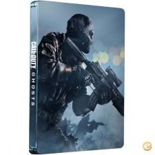 XBOX360 - Call of Duty Ghosts Steelbook Edition EXTRA - NOVO