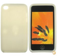 Capa em silicone - iPod Touch 4 (Cinza)