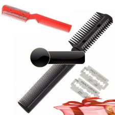 33A2439 - Cat Dog Pet Trimmer cabelo Comb 2 Navalha Grooming