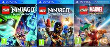 PS Vita - LEGO Ninjago Nindroids, Shadow of Ronin + Marvel