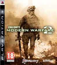 Call of Duty Modern Warfare 2 NOVO PS3