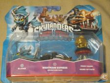 Skylanders Nightmare Express: Blades, Piggy Bank, Hand Fate