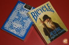 Baralho De Cartas Bicycle Blue AEsir Viking Gods