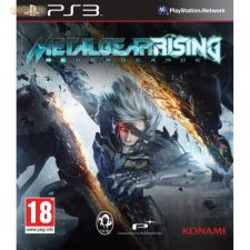 METAL GEAR RISING REVENGEANCE PS3 NOVO e SELADO TEM PT