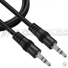 Cabo Audio  Jack 3,5mm Stereo  5 metros