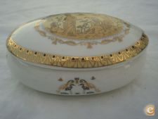Caixa oval Limoges