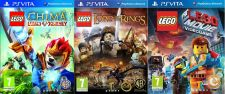 PS Vita - LEGO Chima, Lord of the Rings, Movie The Videogame