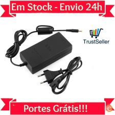 LU28 Carregador AC + Cabo SONY PS2 Playstation 2 - Em Stock