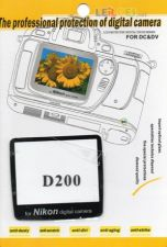 LCD Screen Protector for DSLR Nikon D200