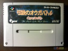 OGRE BATTLE BLACK QUEEN SNES Jp Cartucho