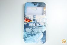 Capa Vodafone Smart Ultra 7 Flip Cover Warships*Entrega 24h!