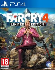 PS4 - Far Cry 4 Limited Edition - NOVO/SELADO - ENVIO JA