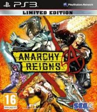 Anarchy Reigns Limited Edition NOVO PS3