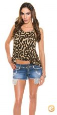 TOP LEOPARDO JESSICA