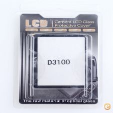 Optical glass LCD screen protector for Nikon D3100 D3200