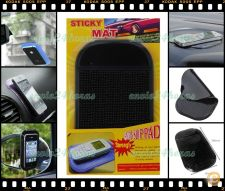 Tapete suporte aderente gel smartphone tablet iPod iPad GPS