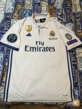 Camisola Real Madrid 16/17 Final Cardiff em Stock!!!