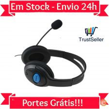 LU32 Auscultadores Headphones Gaming com Microfone PS4 PC