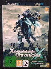 Xenoblade Chronicles X WII U Limited Edition novo selado