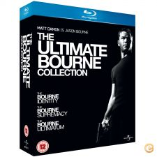 The Ultimate Bourne Collection - BluRay Novo