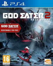God Eater 2 Rage Burst c/ extras PS4 NOVO EM STOCK