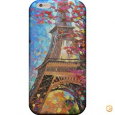 Capa Paris painting para iPhone 7