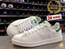 Adidas Stan Smith White Green - entrega Imadiata