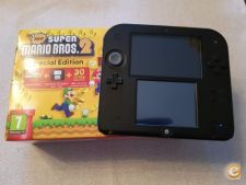 Nintendo 2DS + Super Mario Bros. 2 + 4Gb