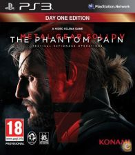 Metal Gear Solid V The Phantom Pain D1 NOVO PS3